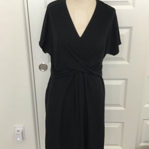 A new day wrap style dress, large, NWT